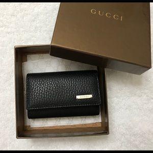 Gucci Key Chain Holder Case Wallet.